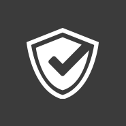 checkmark & badge icon